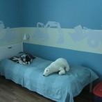 Lastenhuoneen seinämaalaus